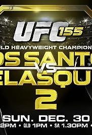 UFC 155: Dos Santos vs. Velasquez 2 Poster