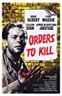 Orders to Kill (1958) Poster