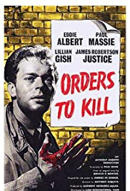Orders to Kill (1958) Poster - Movie Forum, Cast, Reviews