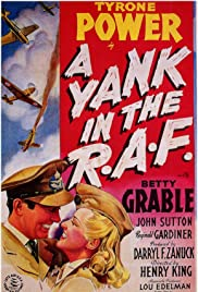 A Yank in the R.A.F.(1941) Poster - Movie Forum, Cast, Reviews