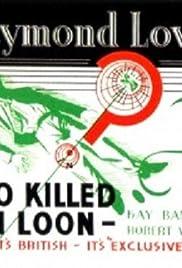 Who Killed Van Loon? Poster