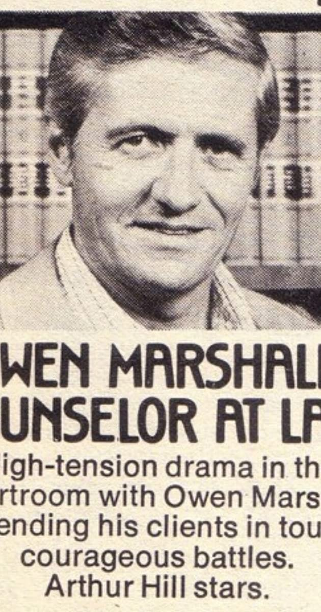 Owen Marshall, Counselor at Law (TV Series 1971–1974) - Full