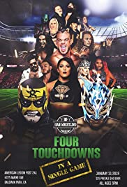 Bar Wrestling 29: Four Touchdowns In A Single Game Poster