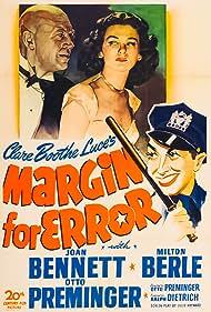 Margin for Error (1943) Poster - Movie Forum, Cast, Reviews