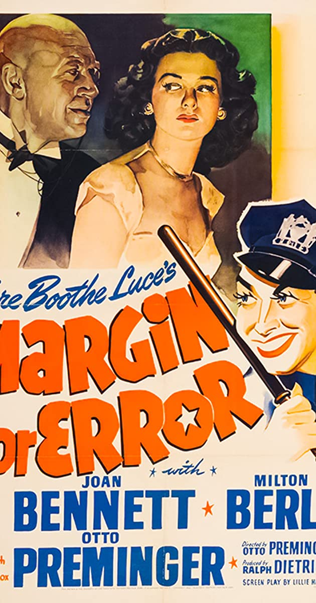 Margin for Error (1943) - IMDb