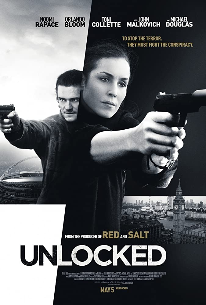 Watch Unlocked (2017) Movies Online Free Full HD.