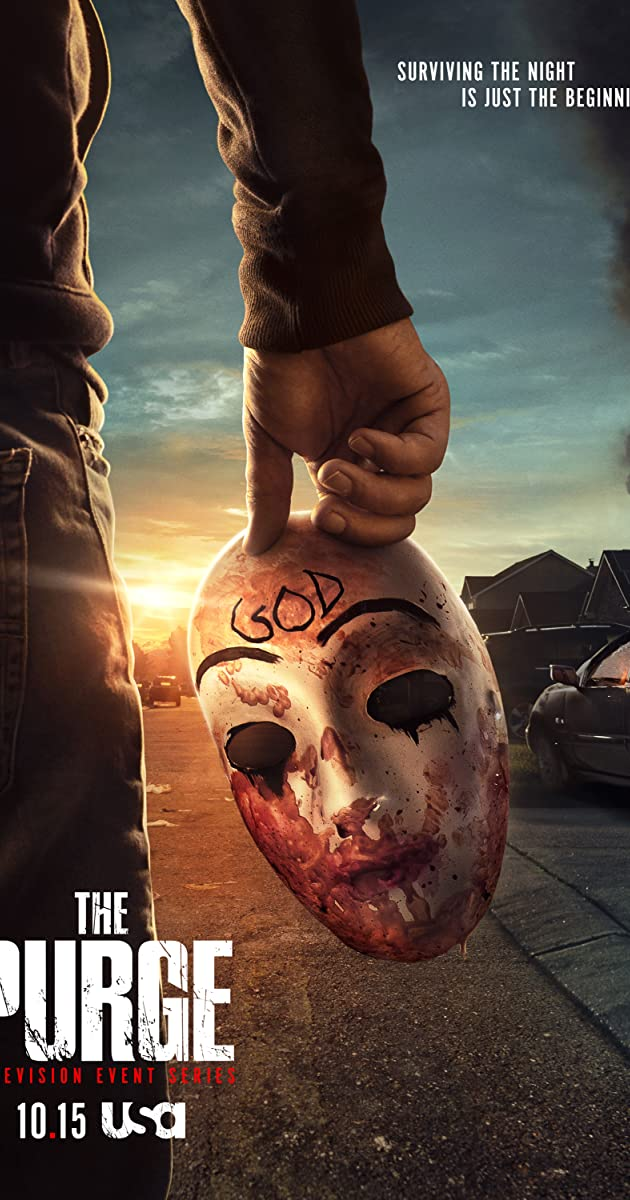Download The Purge or watch streaming online complete episodes of  Season 2 in HD 720p 1080p using torrent