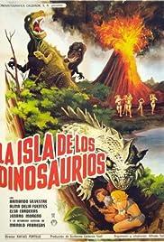 La isla de los dinosaurios Poster