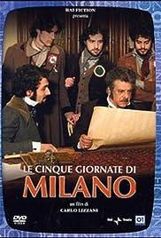 Le cinque giornate di Milano Poster