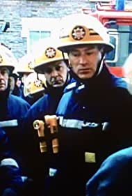 Sean Blowers, Michael Garner, James Hazeldine, and Richard Walsh in London's Burning (1988)