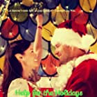 Summer Glau, who plays an elf helping a family find their Christmas spirit, and John Brotherton, who plays uncle Dave and her love interest, sharing a moment of happiness in 'Help for the Holidays'.