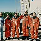 Adam Baldwin, Cameron Bancroft, James Chressanthis, Tyra Ferrell, David Kelsey, and Tom Nowicki in The Cape (1996)