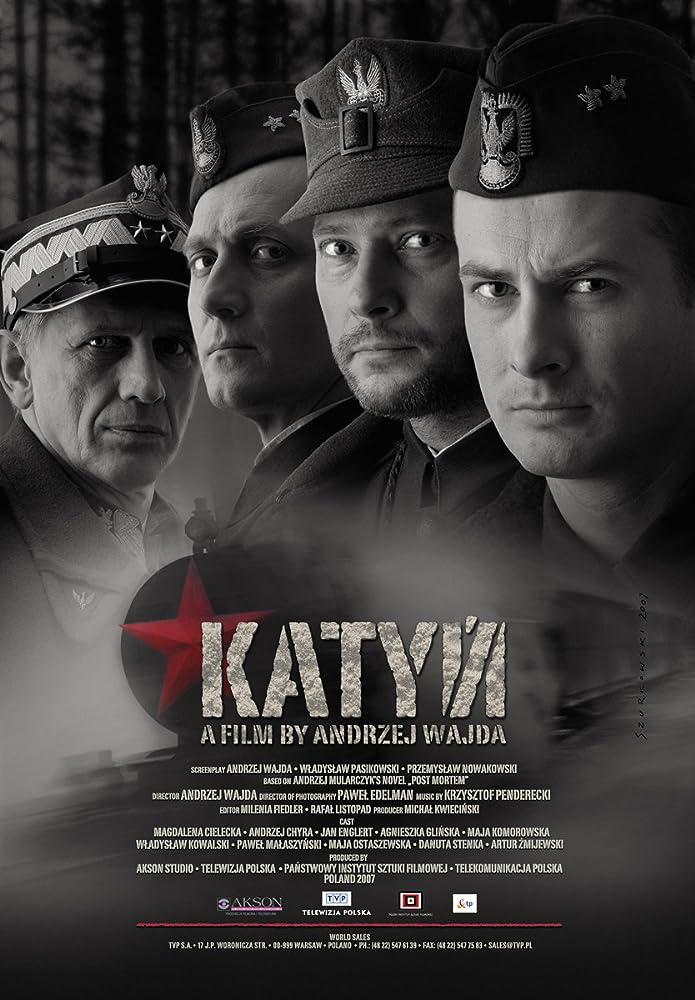 Andrzej Chyra, Jan Englert, Artur Zmijewski, and Pawel Malaszynski in Katyn (2007)