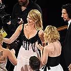 Laura Dern, Scarlett Johansson, Adam Driver, and Joanne Tucker at an event for The Oscars (2020)