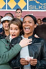 Leisha Hailey and Rose Rollins in The L Word (2004)