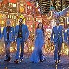 Madhuri Dixit, Ajay Devgn, Jaaved Jaaferi, Anil Kapoor, Arshad Warsi, Sanjay Mishra, and Riteish Deshmukh in Total Dhamaal (2019)