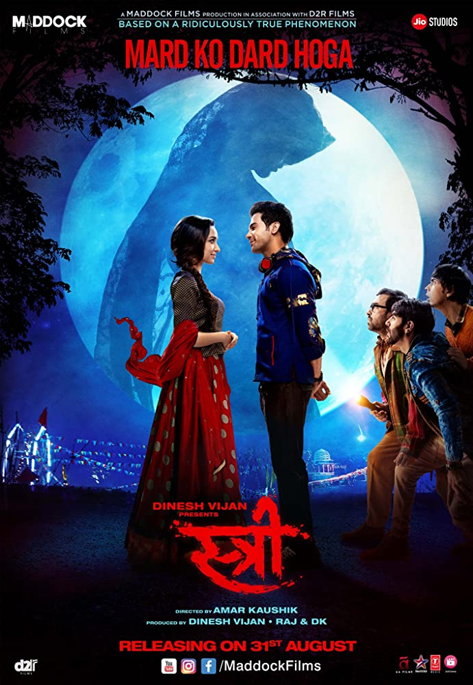 Stree 2018 Hindi Movie 720p HDRip 900MB ESubs Download