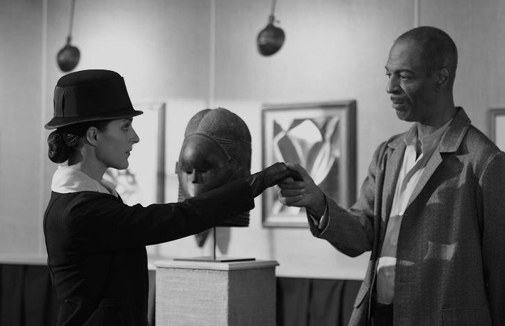 Tone Forrest and Rachel de la Torre in Looking For Mr Stieglitz (2013)