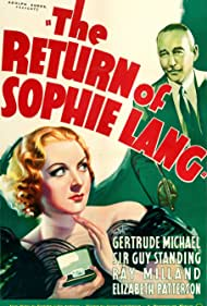 Gertrude Michael and Guy Standing in The Return of Sophie Lang (1936)