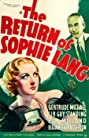 The Return of Sophie Lang (1936) Poster
