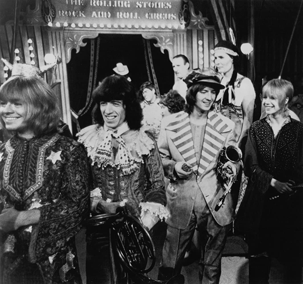 Marianne Faithfull in The Rolling Stones Rock and Roll Circus (1996)