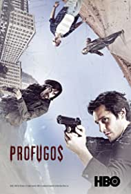 Néstor Cantillana, Luis Gnecco, Francisco Reyes, and Benjamín Vicuña in Prófugos (2011)