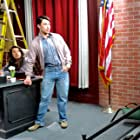 BEHIND THE SCENES: Actor PARIS DYLAN on set for the Feature Film, THINK: The Legacy of Think and Grow Rich