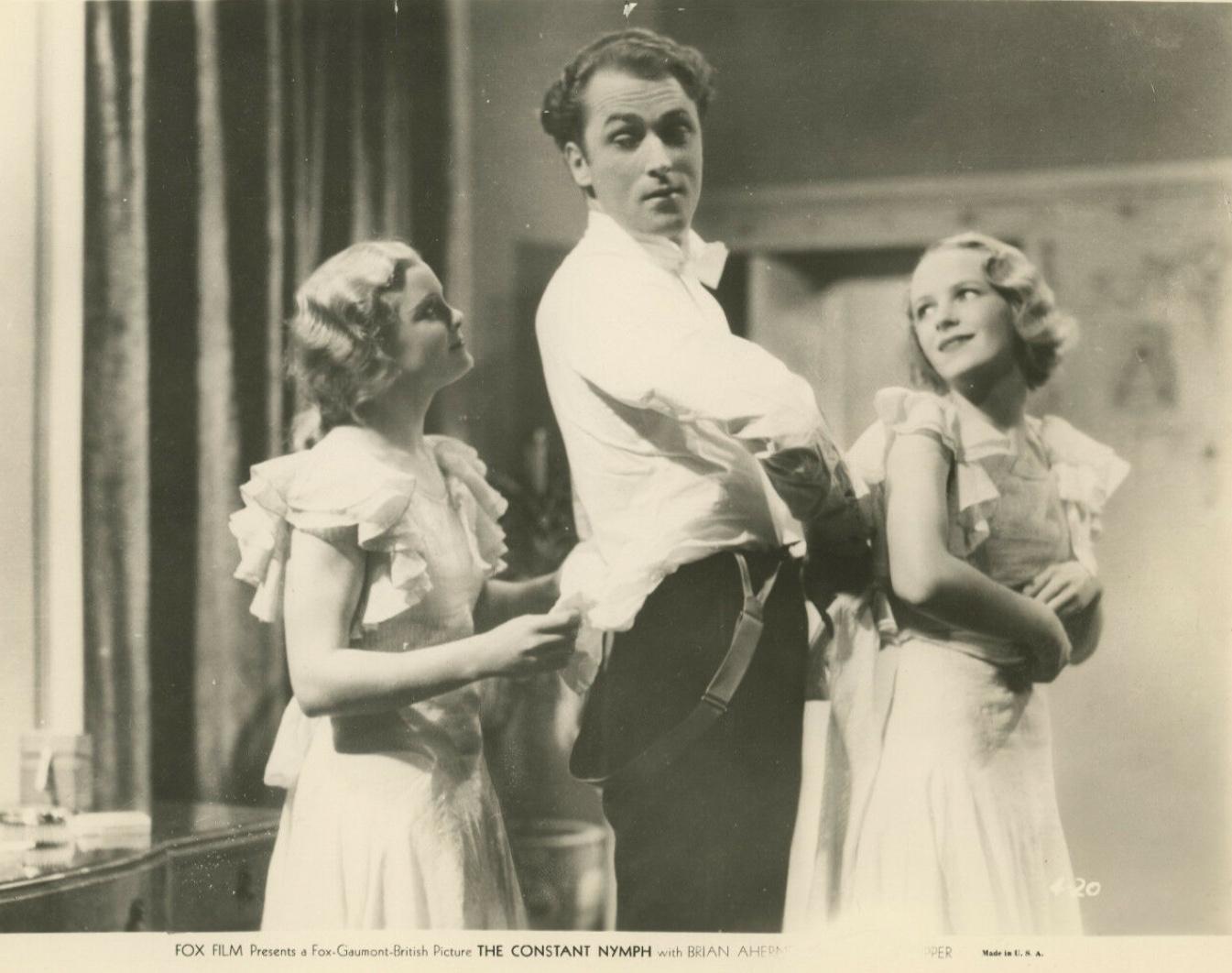 Brian Aherne, Leonora Corbett, and Victoria Hopper in The Constant Nymph (1933)