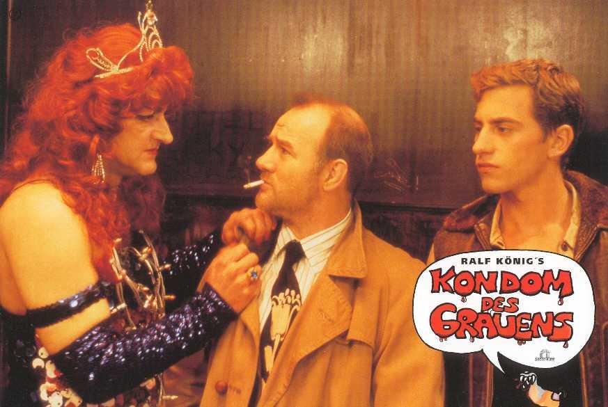 Leonard Lansink, Marc Richter, and Udo Samel in Kondom des Grauens (1996)