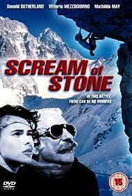 Mathilda May and Donald Sutherland in Cerro Torre: Schrei aus Stein (1991)