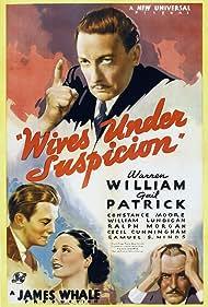 William Lundigan, Ralph Morgan, Gail Patrick, and Warren William in Wives Under Suspicion (1938)