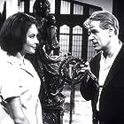 Karin Dor and O.W. Fischer in Das Geheimnis der schwarzen Witwe (1963)