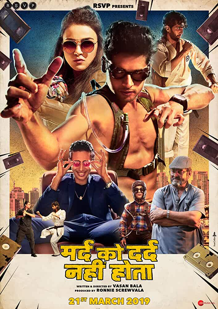 Mard Ko Dard Nahin Hota (2019) Hindi 720p HEVC NF Original HDRip x265 AAC ESubs [600MB] Full Bollywood Movie
