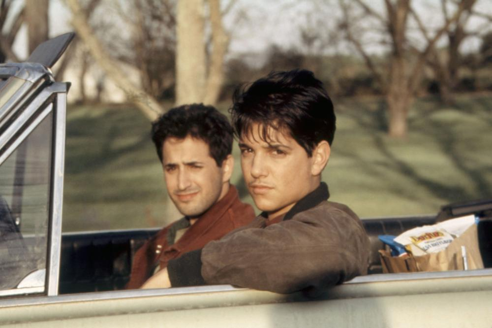 Ralph Macchio and Mitchell Whitfield in My Cousin Vinny (1992)