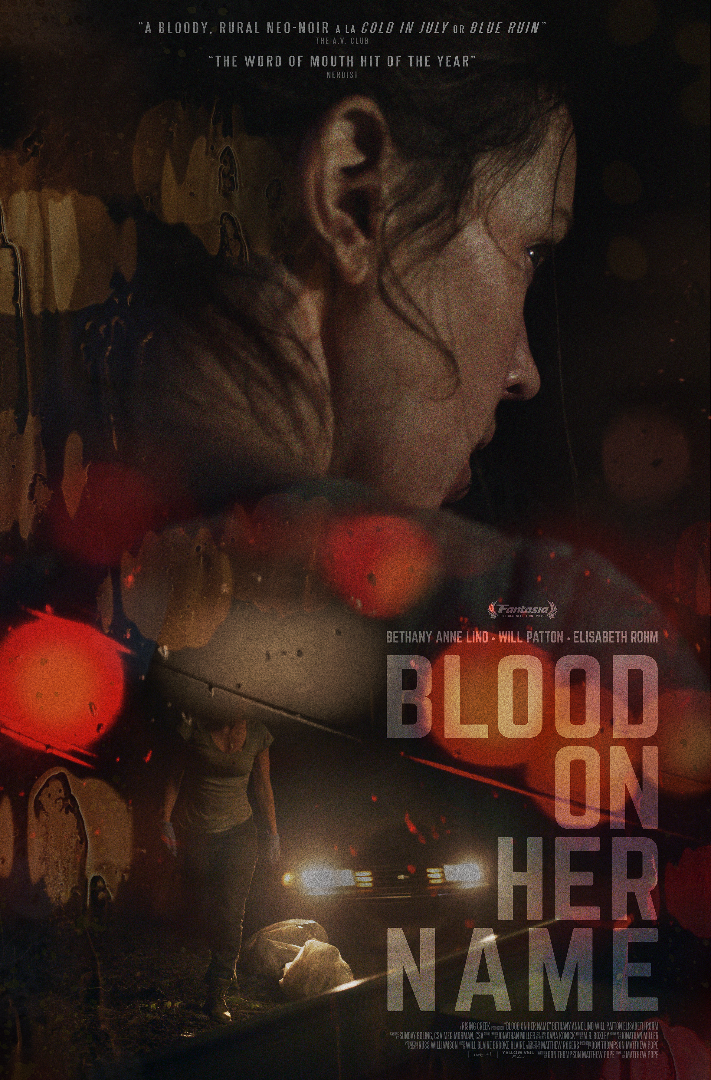 Bethany Anne Lind in Blood on Her Name (2019)