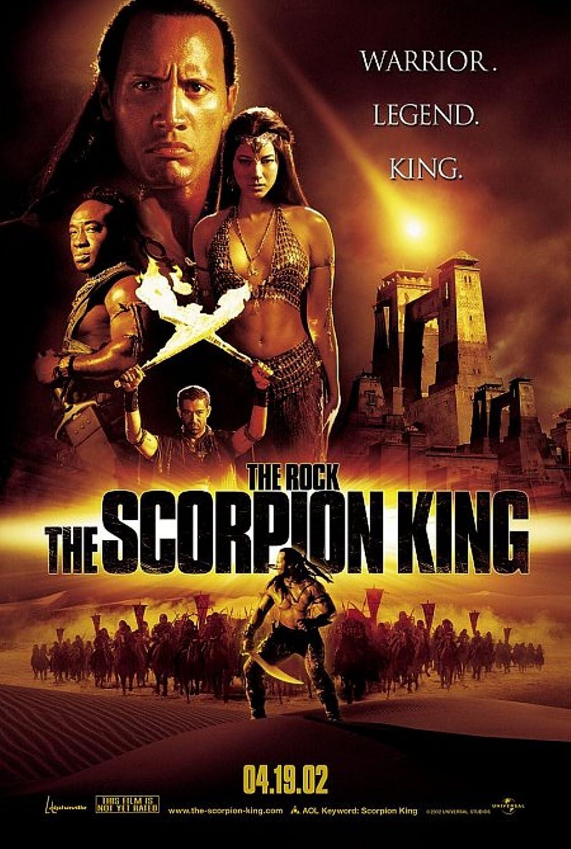 The Scorpion King 2002 Hindi Dual Audio 350MB BluRay ESub