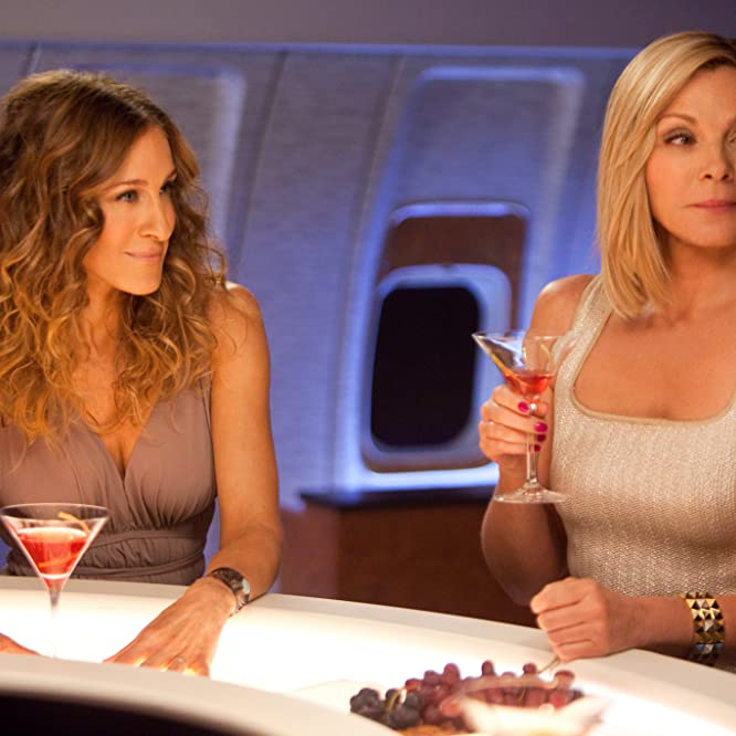 Kim Cattrall and Sarah Jessica Parker in Sex and the City 2 (2010)