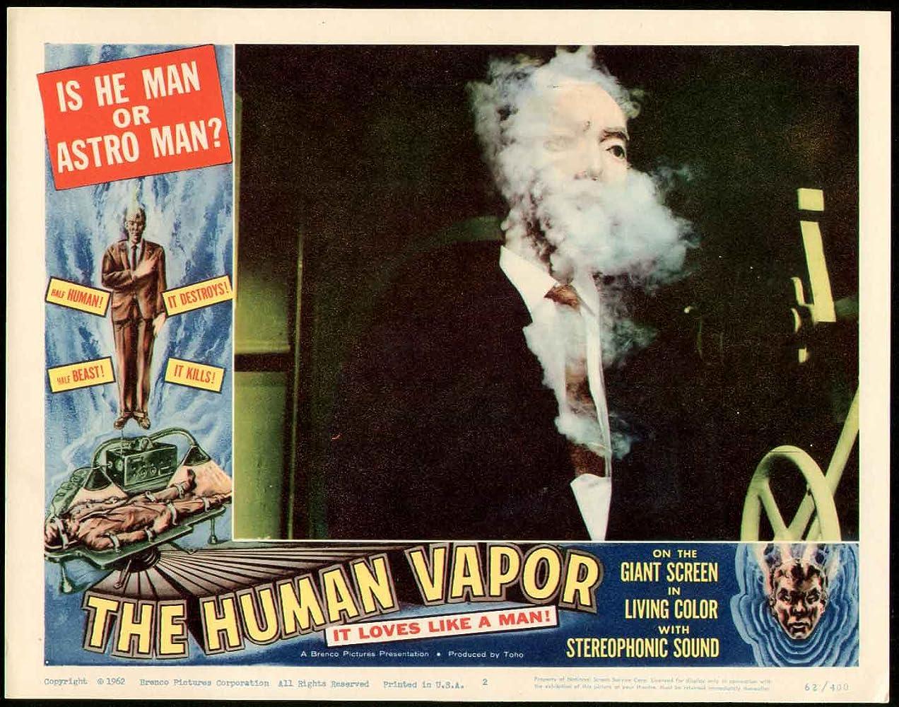 The Human Vapor (1960)