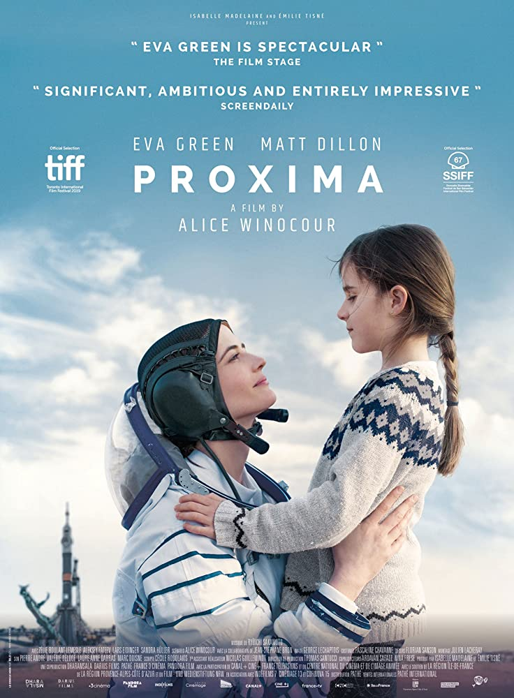 Eva Green and Zélie Boulant in Proxima (2019)