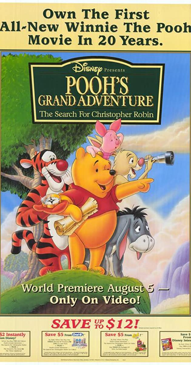Subtitle of Pooh's Grand Adventure: The Search for Christopher Robin