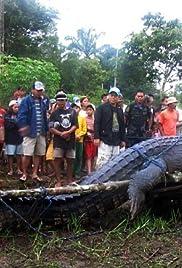 Man-Eating Super Croc Poster