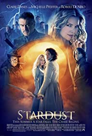 Claire Danes, Robert De Niro, Michelle Pfeiffer, Ricky Gervais, Mark Strong, and Charlie Cox in Stardust (2007)