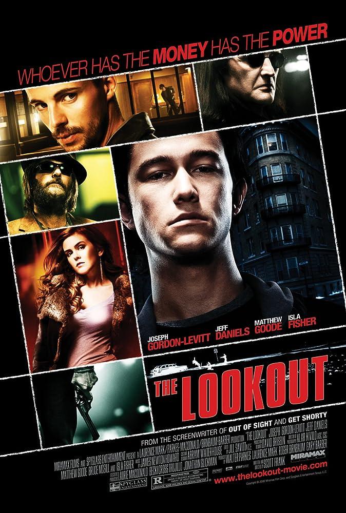 Isla Fisher and Joseph Gordon-Levitt in The Lookout (2007)