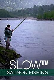 Slow TV: Salmon Fishing Poster