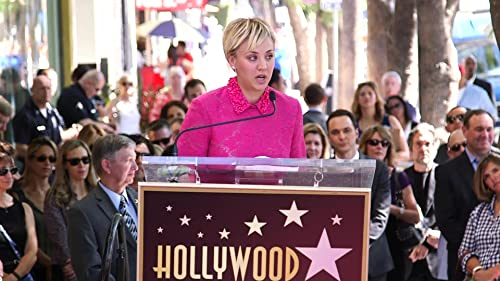The Big Bang Theory: Kaley Cucco Receives A Star On The Walk Of Fame
