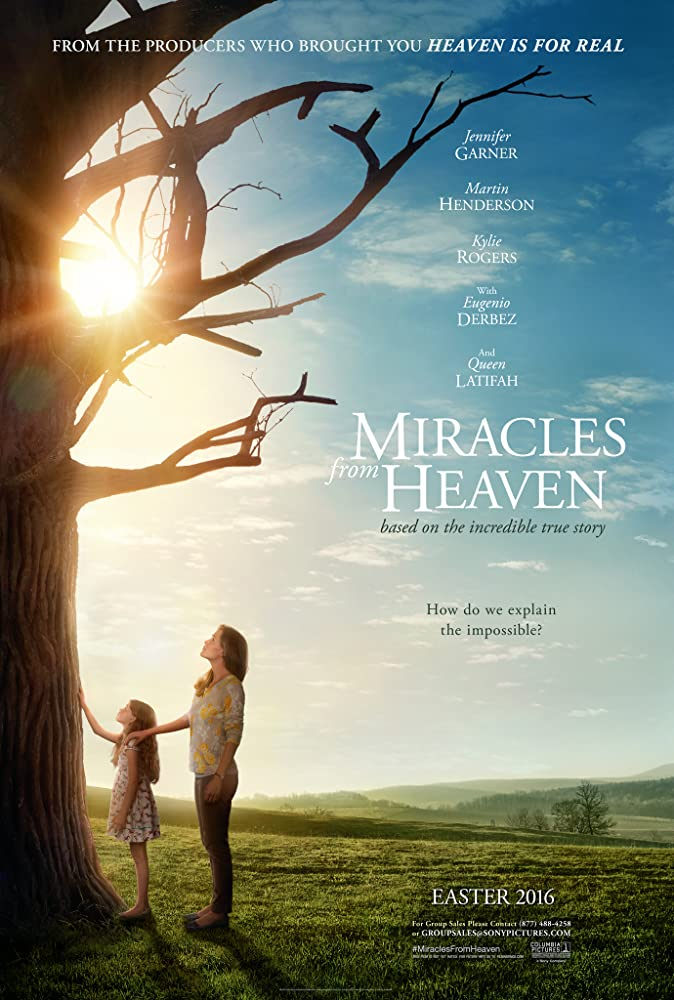 Jennifer Garner and Kylie Rogers in Miracles from Heaven (2016)