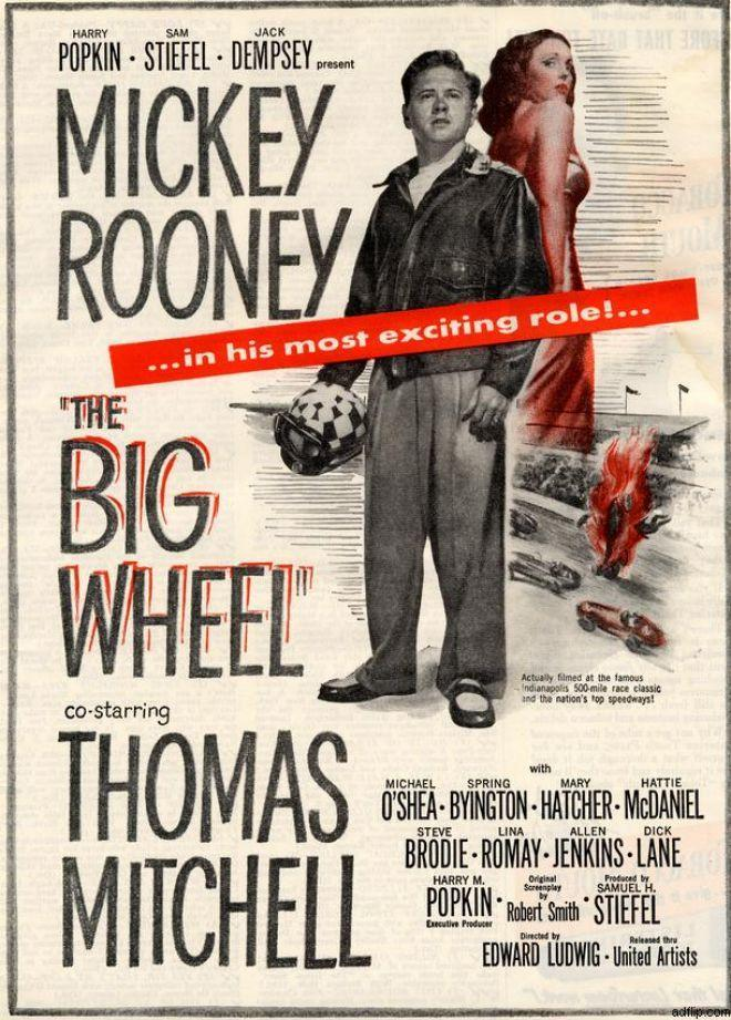 Mickey Rooney in The Big Wheel (1949)