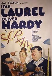 Scram!(1932) Poster - Movie Forum, Cast, Reviews
