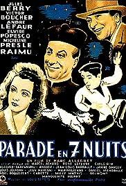 Parade en 7 nuits Poster