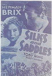 Silks and Saddles Poster